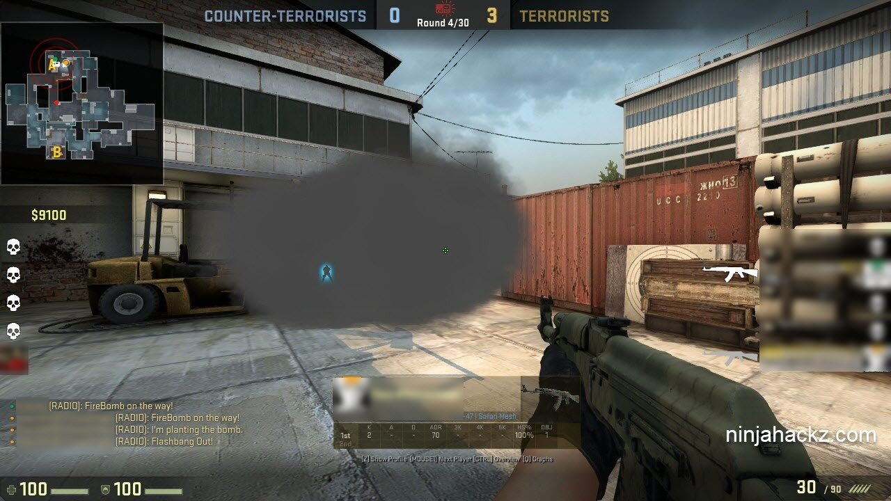 Cheating in CS:GO #2